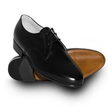751df2e68e3e3 Półbuty galowe koloru czarnego wzór 918A/MON